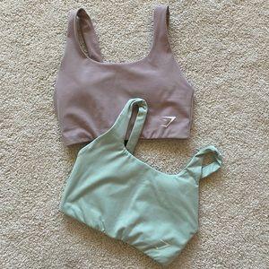 2 Gymshark sports bras